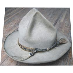1923 Stetson hat marked, the Hub with hitched hair prison made hat band