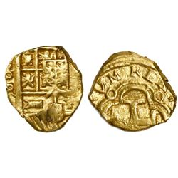 Seville, Spain, cob 1 escudo, Philip IV, assayer R