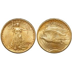USA (Philadelphia mint), $20 (double eagle) St. Gaudens, 1920.