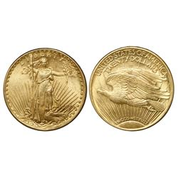 USA (Philadelphia mint), $20 (double eagle) St. Gaudens, 1926.