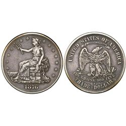 USA (San Francisco mint), $1 seated Liberty (trade dollar), 1876-S.