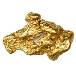 Natural gold nugget from Australia, 8.12 grams.