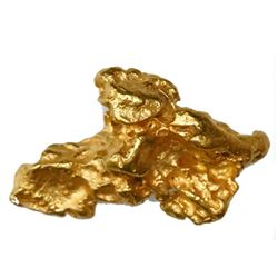 Natural gold nugget from Australia, 5.50 grams.