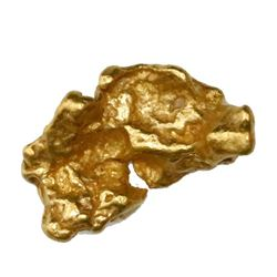 Natural gold nugget from Australia, 4.05 grams.