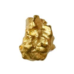 Natural gold nugget from Australia, 3.03 grams.