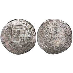 Emden, Germany (Holy Roman Empire), 28 stuber (2/3 thaler or 1 gulden), Ferdinand II (1619-37).