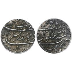 Surat, India (Mughal Empire), rupee, Aurangzeb (1658-1707), AH1113 (1702), encapsulated ICG VF20.