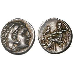 Kings of Macedon, AR drachm, Alexander III (the Great), ca. 336-323 BC, Abydos mint, ca. 310-301 BC.