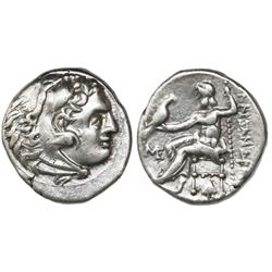 Kings of Macedon, AR drachm, Alexander III (the Great), 336-323 BC, Abydos mint, ca. 310-301 BC.