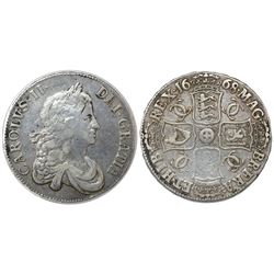 Great Britain (London, England), crown, 1668.
