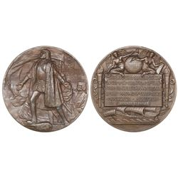 USA, large bronze award medal, Columbian Exposition, 1892-93.