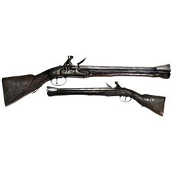 Eastern European handheld blunderbuss, late 1700s to early 1800s.