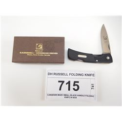 DH RUSSELL FOLDING KNIFE