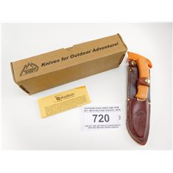 OUTDOOR EDGE KNIFE AND SAW SET, WITH BOX AND SHEATH, NEW