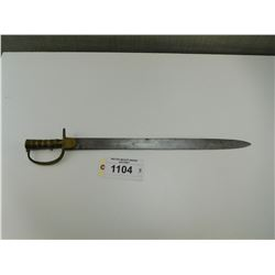 BRITISH BAKER SWORD BAYONET