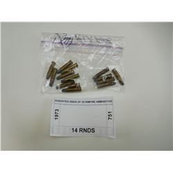 ASSORTED RNDS OF 25 RIMFIRE AMMUNITION