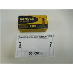 CANUCK 32 SHORT AMMUNITION
