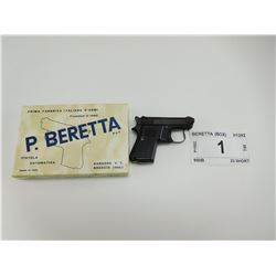 BERETTA , MODEL: 950B , CALIBER: 22 SHORT
