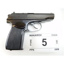 MAKAROV , MODEL: PM , CALIBER: 9MM MAKAROV