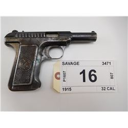 SAVAGE , MODEL: 1915 , CALIBER: 32 CAL
