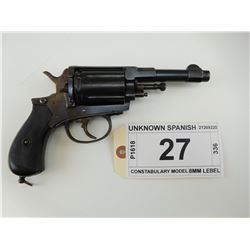 UNKNOWN SPANISH  , MODEL:  CONSTABULARY MODEL , CALIBER: 8MM LEBEL