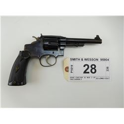 SMITH & WESSON , MODEL: HAND EJECTOR 32 MOD 2 OF 1903 CHANGE 3 , CALIBER: 32 LONG COLT