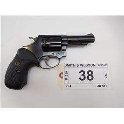 SMITH & WESSON , MODEL: 36-1 , CALIBER: 38 SPL