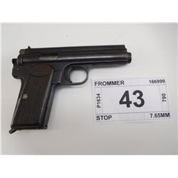 FROMMER , MODEL: STOP , CALIBER: 7.65MM