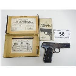 COLT , MODEL: 1903 POCKET HAMMERLESS , CALIBER: 32 COLT