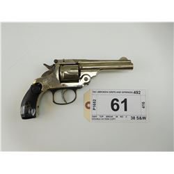 TAC  , MODEL: S&W TOP BREAK 38 NO 2 DOUBLE ACTION COPY , CALIBER: 38 S&W