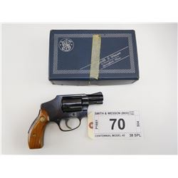 SMITH & WESSON , MODEL: 40 , CALIBER: 38 SPL