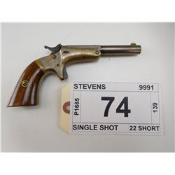 STEVENS , MODEL: POCKET PISTOL , CALIBER: 22 SHORT