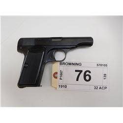 BROWNING , MODEL: 1910 , CALIBER: 32 ACP