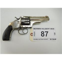 MERWIN HULBERT , MODEL: DOUBLE ACTION POCKET , CALIBER: 38 S&W