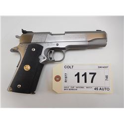 COLT , MODEL: GOLD CUP NATIONAL MATCH MKIV SERIES 80 , CALIBER: 45 AUTO