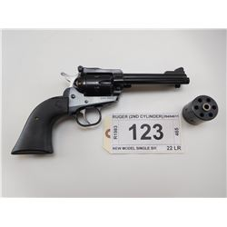 RUGER , MODEL: NEW MODEL SINGLE SIX , CALIBER: 22 LR