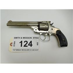 SMITH & WESSON , MODEL: TOP BREAK REVOLVER , CALIBER: 38 S &W
