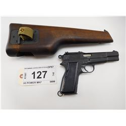 BROWNING , MODEL: HI POWER NO 1 MKI* , CALIBER: 9MM