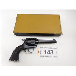 ROHM , MODEL: DOUBLE ACTION REVOLVER , CALIBER: 22 LR
