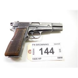 FN BROWNING , MODEL: 1935 HP , CALIBER: 9MM