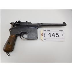 MAUSER , MODEL: C 96 BROOMHANDLE , CALIBER: 7.63 MAUSER
