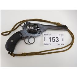 "WEBLEY , MODEL: MARK ""V"" , CALIBER: 455 REV"