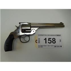 HARRINGTON & RICHARDSON , MODEL: TOP BREAK MOD 3  VAR 7 AUTO EJECTING , CALIBER: 38 S & W