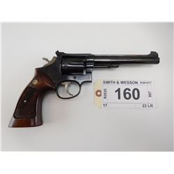 SMITH & WESSON , MODEL: 17 , CALIBER: 22 LR