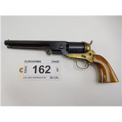 EUROARMS  , MODEL: COLT NAVY REPRODUCTION  , CALIBER: 36 CAL