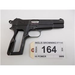 INGLIS BROWNING , MODEL: HI POWER    , CALIBER: 9MM