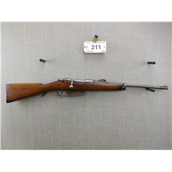 MANNLICHER CARCANO , MODEL: SPORTER , CALIBER: 6.5MM