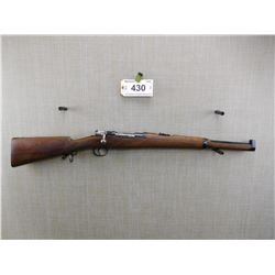 MAUSER , MODEL: 1895 SPANISH CARBINE , CALIBER: 7MM MAUSER