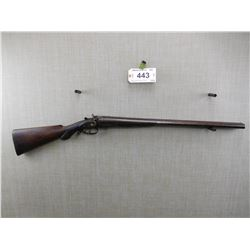 J MANTON & CO , MODEL: SIDE BY SIDE BREAK ACTION SHOTGUN , CALIBER: 12GA