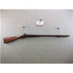 UNKNOWN , MODEL: SIDE BY SIDE PERCUSSION FOWLING GUN , CALIBER: 12 BORE